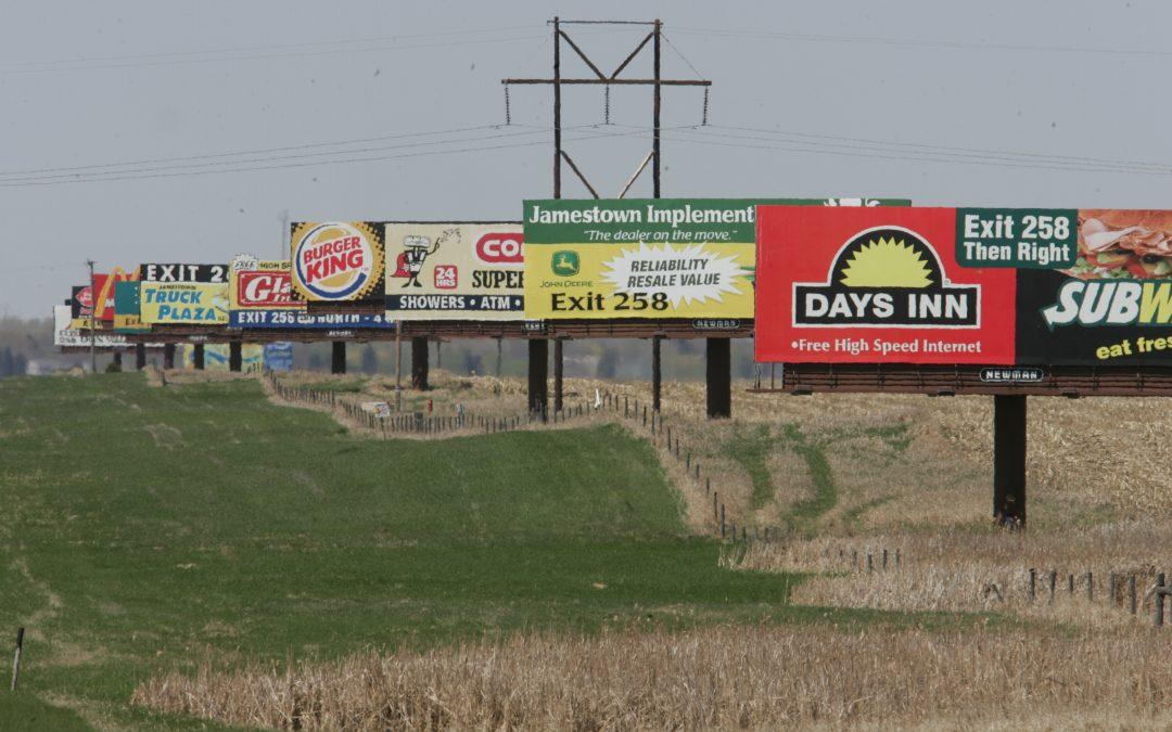 Billboard Poster Laborer Fargo