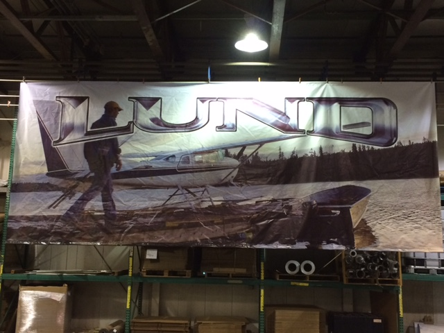 10ft x 24ft Double Sided